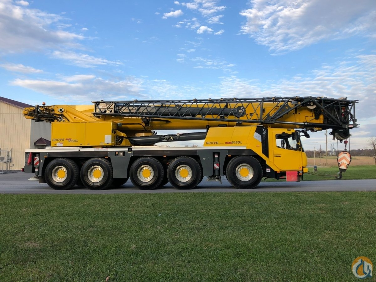 Grove GMK5150L crane