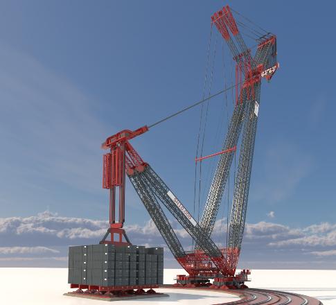 SK10000 Crane