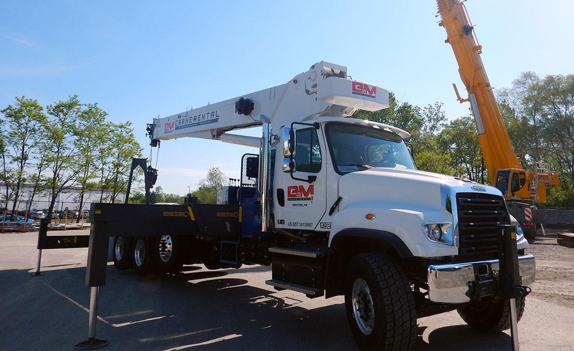 Boom Truck Crane vs All-Terrain Crane