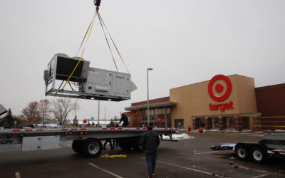 Why HVAC Contractors Choose Crane Rentals for Commercial Installation
